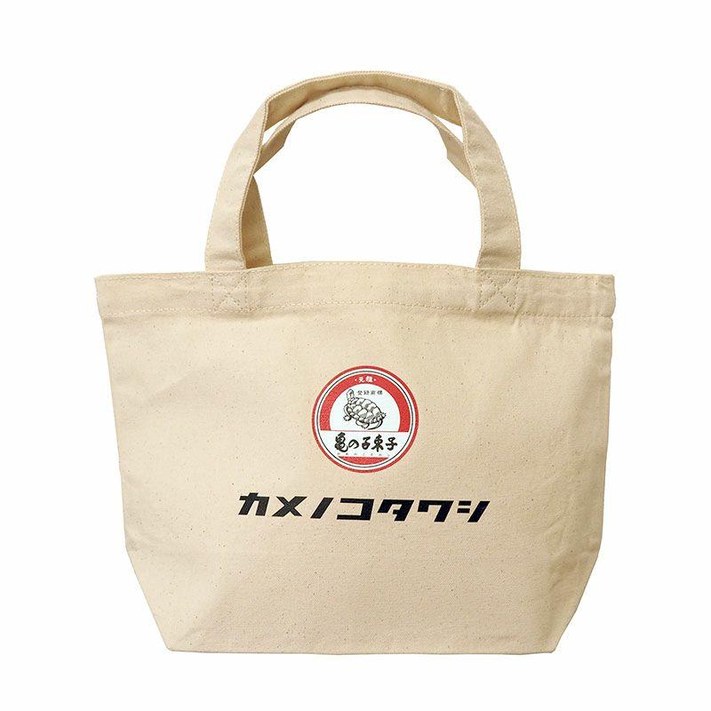 亀の子束子 ロゴ トートバッグ