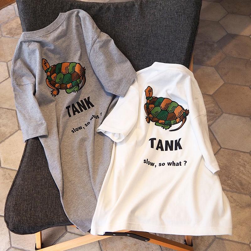 亀の子束子 TANK Tシャツ