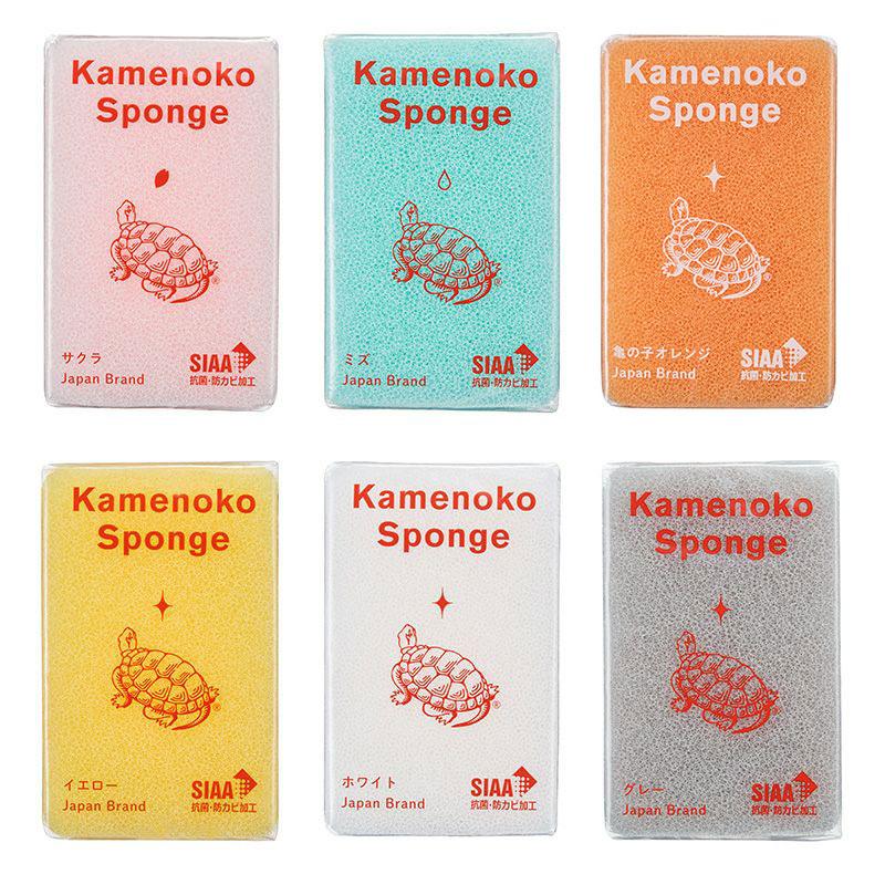 亀の子スポンジ春季限定6色セット